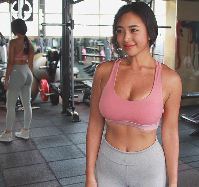 マッチョほどではない筋肉質の美女の画像☆2