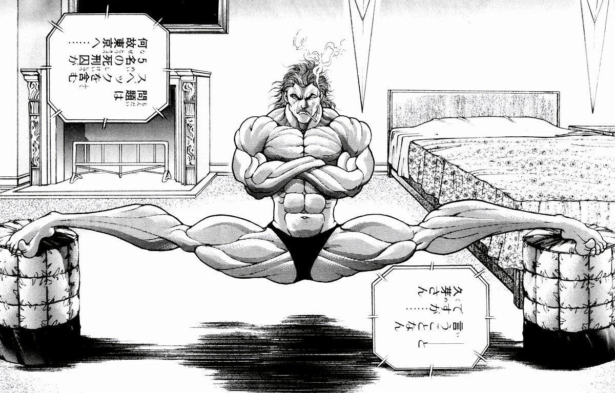 花山薫って流石に鍛えてない割に筋肉付きすぎだろ