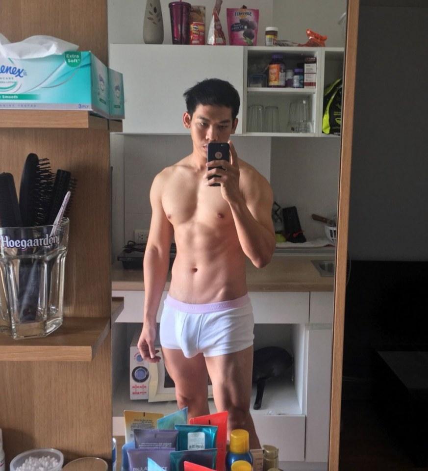 【画像】男ってこれくらいの筋肉はあるの????