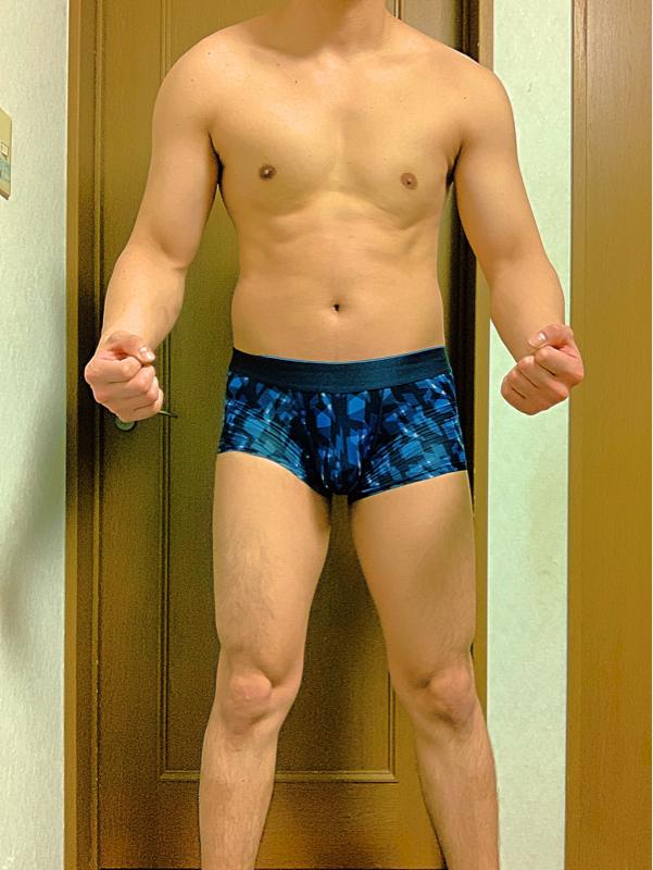 【画像】筋トレ74日目177cm81kg体脂肪率17%のワイの体wwwwww