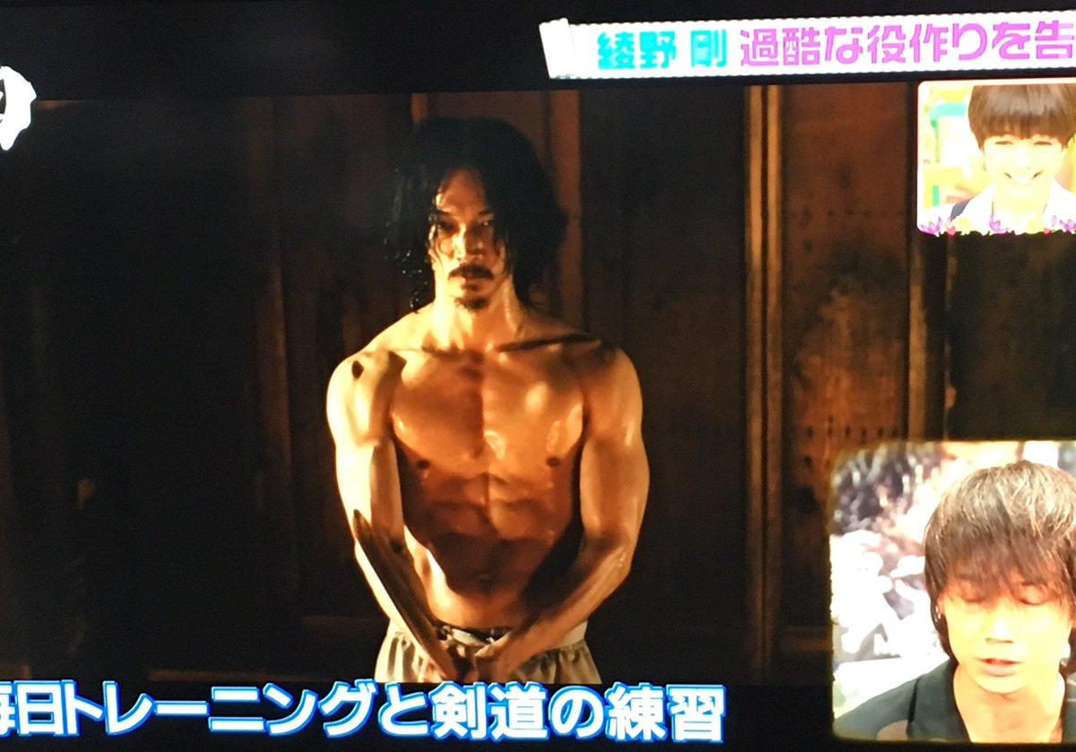 【芸能】「男性が憧れる理想のボディランキング」1位 阿部寛 2位は稲葉浩志