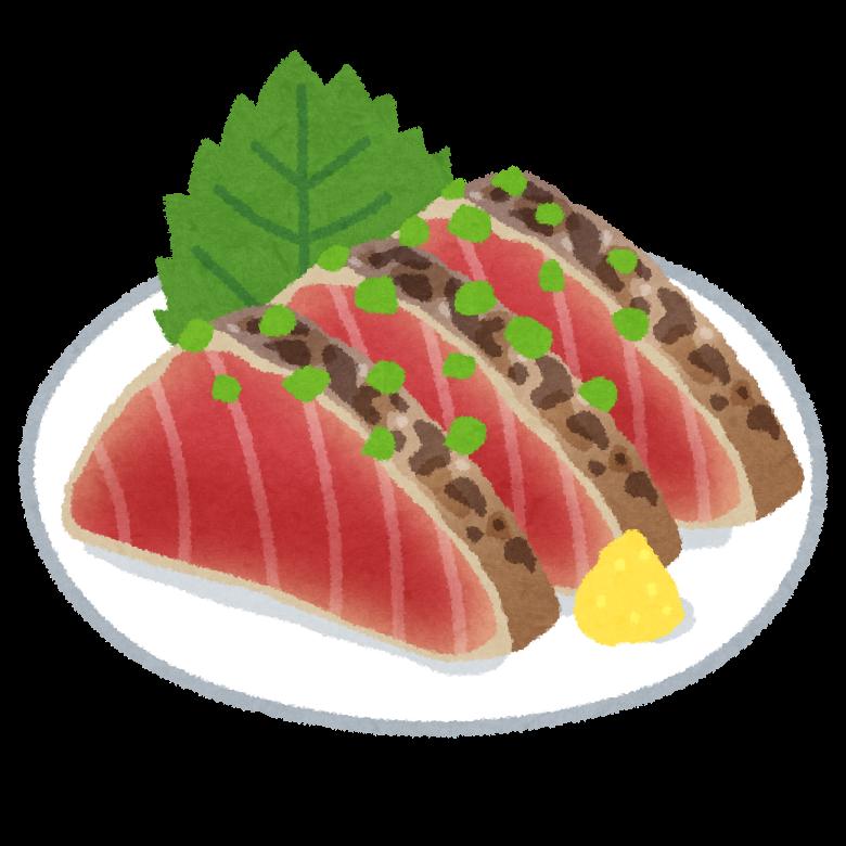 【悲報】カツオのタタキさん、胸肉を超える筋肉飯やのになぜか影が薄い