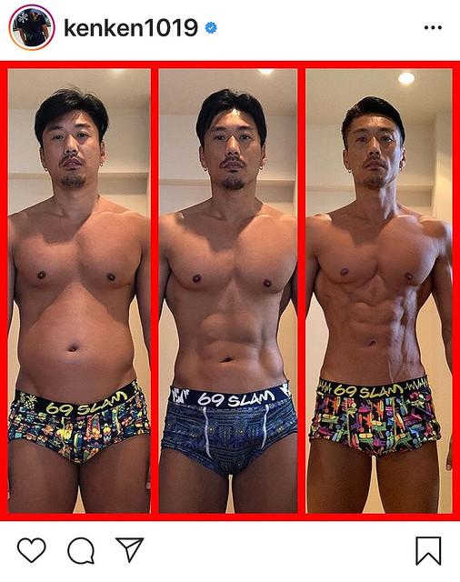 【画像】俳優・金子賢の肉体変化がヤバすぎる