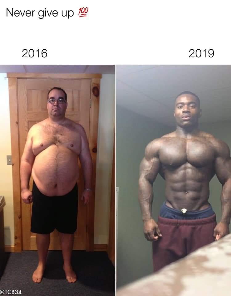 【画像】身体を真剣に鍛えれば3年でムキムキになれるぞw