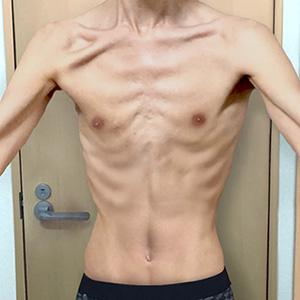 ワイ筋トレ3ヶ月目の肉体ww
