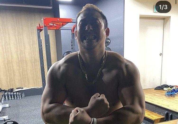 【野球】中田翔、規格外のマッチョボディー公開 ファン仰天「まるでレスラー」「筋肉ヤバい」