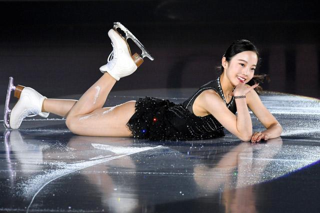 本田真凜の足の筋肉